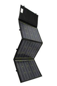 Faltbares Solarmodul 110W von Solar Swiss, in Tasche eingenäht