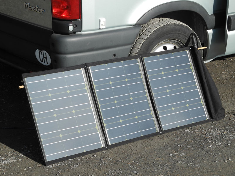 Mobiles, faltbares Solarmodul 110Wp von SolarSwiss