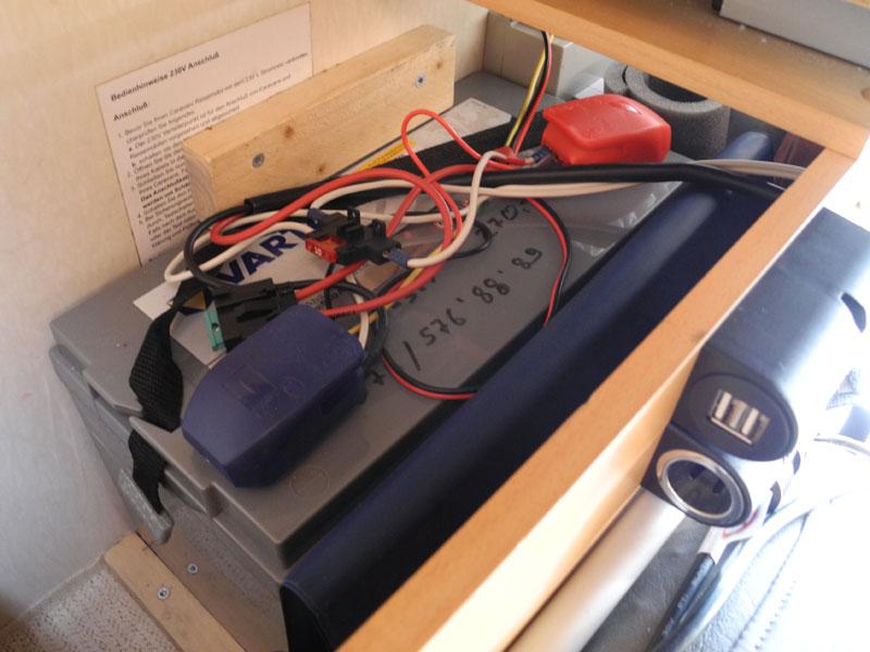 AGM Solarbatterie für zusätzliche Verbraucher wie E-Bike